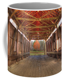 Sycamore Park Covered Bridge Coffee Mug