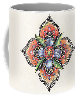 Zendala Template #1 Coffee Mug