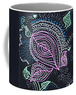 Zentangle Flower Coffee Mug
