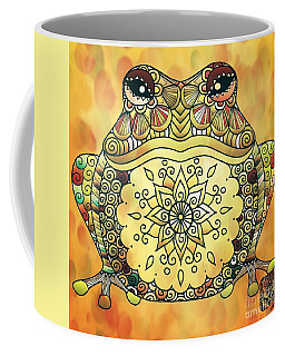 Zentangle Frog Coffee Mug