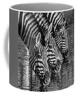 Coffee Mug featuring the photograph Zerba At The Watering Hole by Rand