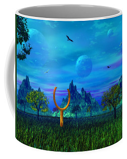 Coffee Mug featuring the photograph Zhahnjroom by Mark Blauhoefer