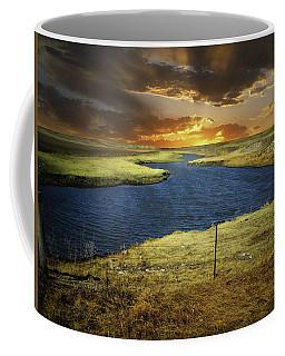 Zig Zag River Coffee Mug