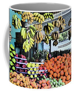 Coffee Mug featuring the photograph Zihuatanejo Market by Rosanne Licciardi
