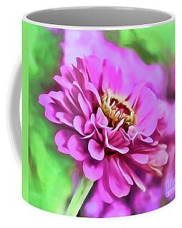 Zinnia Art 2 Coffee Mug