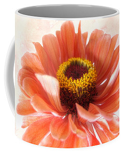 Zinnia Bright Coffee Mug by Louise Kumpf