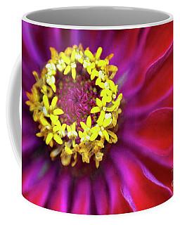 Zinnia Magenta Coffee Mug