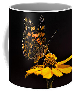 Zinnia Sipping Coffee Mug