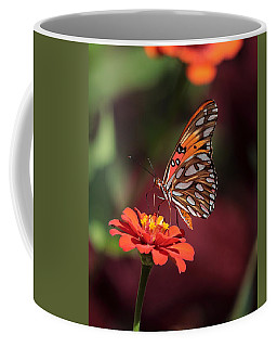 Zinnia With Butterfly 2668 Coffee Mug