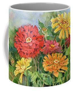 Zinnias Coffee Mug