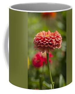 Zinnia Portrait Coffee Mug