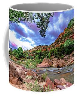 Zion At Daybreak Coffee Mug