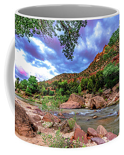 Zion At Daybreak Coffee Mug