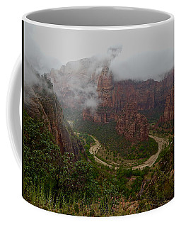 Zion Canyon Coffee Mug
