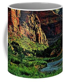 Zion Canyon River Coffee Mug