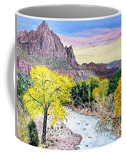 Zion Creek Coffee Mug