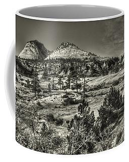 Zion National Park Along Rt 9 Coffee Mug