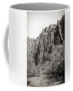 Zion National Park Sepia Tones  Coffee Mug