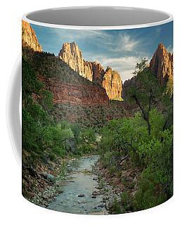 Zion National Park Vii Coffee Mug