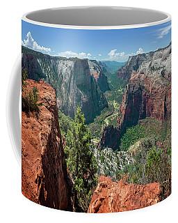 Zion National Park Viii Coffee Mug