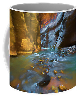 Zion Watercolor Coffee Mug