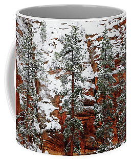 Coffee Mug featuring the photograph Zion's Red And Green by Daniel Woodrum