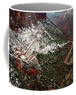 Zion's Winding Road Coffee Mug