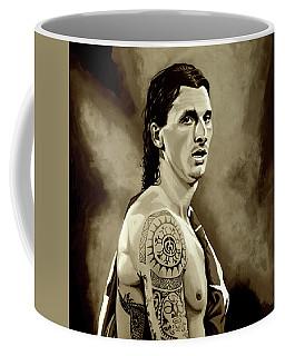 Zlatan Ibrahimovic Sepia Coffee Mug