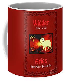 Zodiac Sign Aries - Widder Coffee Mug