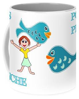 Zodiac Sign Pisces Coffee Mug