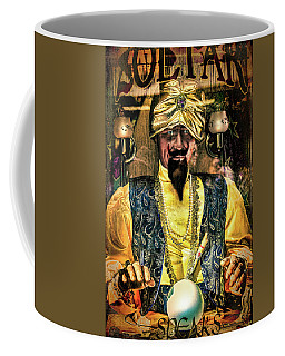 Coffee Mug featuring the photograph Zoltar by Chris Lord