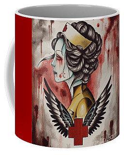 Zombie Nurse Coffee Mug