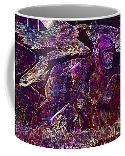 Coffee Mug featuring the digital art Zoo Monkey Animal  by PixBreak Art