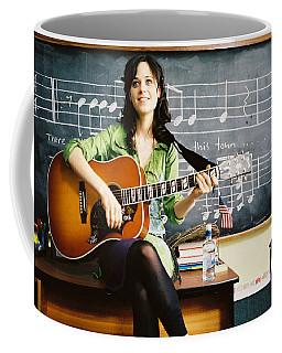 Zooey Deschanel Coffee Mug