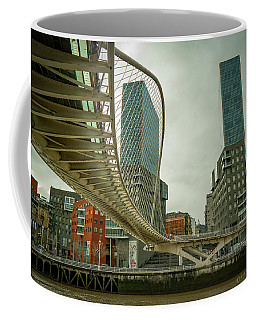 Zubi Zuri Footbridge Bilbao Spain Coffee Mug