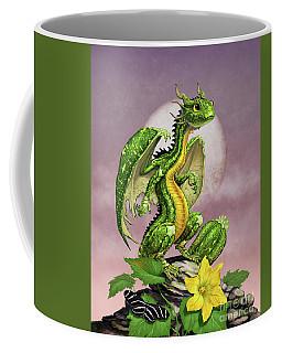 Zucchini Dragon Coffee Mug by Stanley Morrison