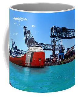 Zug Island Detroit Coffee Mug