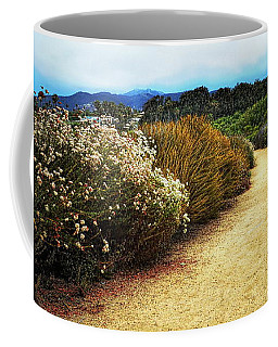 Zuma Beach Pathway Coffee Mug by Glenn McCarthy Art and Photography