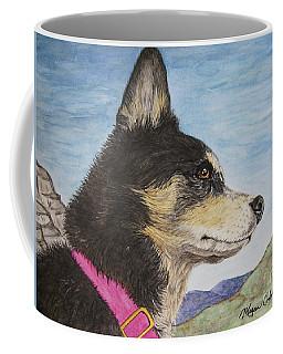 Zuma Coffee Mug by Megan Cohen