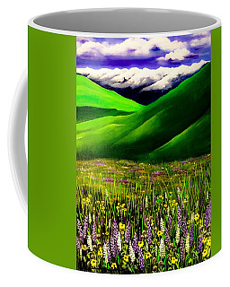 Zumwalt Prairie Coffee Mug by Jennifer Lake