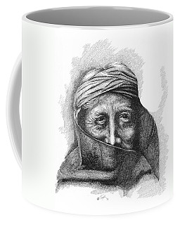Zuni Priest Coffee Mug by Lawrence Tripoli