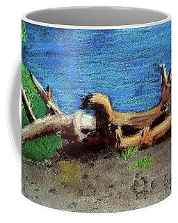 012519 Yellow Stone Lake Shore Coffee Mug