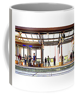 038 - Green Line Coffee Mug