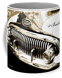 1951 Buick Super, Digital Art Coffee Mug