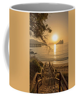 Access To The Beach At Dawn Coffee Mug
