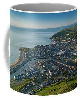 Aberystwyth From The Air Coffee Mug