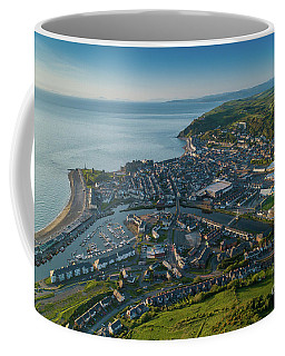 Aberystwyth From The Air Coffee Mug