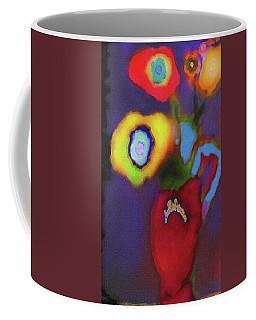 Abstract Floral Art 367 Coffee Mug