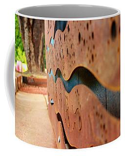 1 Abstract Lake Patricia Sign 3 Coffee Mug