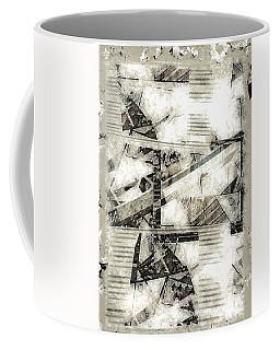 Abstract Triptych Coffee Mug